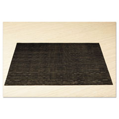 Placemats, 17 X 12, Black, 12/box