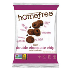 Gluten Free Double Chocolate Chip Mini Cookies, 0.95 Oz