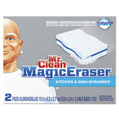 "Magic Eraser Kitchen Scrubber, 3 9/10"" X 2 2/5"","