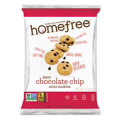Gluten Free Chocolate Chip Mini Cookies, 1.1 Oz Pack,