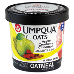Super Premium Oatmeal, Mostly Sunny, 2.54 Oz Cup, 12/carton