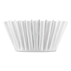 Coffee Filters, 8/10-Cup Size, 100/pack, 12