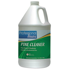 Professional Basics Pine Cleaner, Pine Scent, 1 Gal