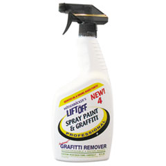 4 Spray Paint Graffiti Remover, 32oz, Bottle,