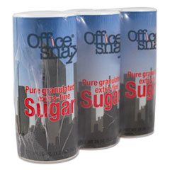 Reclosable Canister Of Sugar, 20 Oz, 3/pack