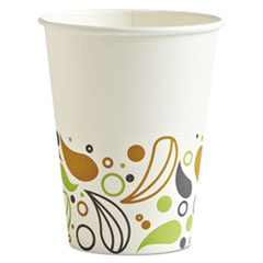 Deerfield Printed Paper Hot Cups, 12 Oz, 50 Cups/pack, 20