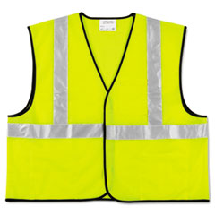 Class 2 Safety Vest, Fluorescent Lime W/silver