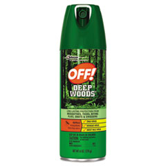 SC JOHNSON Deep Woods Insect Repellent, 6oz Aerosol,