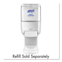 GO-JO ES4 Push-Style Hand Sanitizer Dispenser, White,