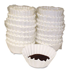Basket Style Coffee Filters, Paper, 12 To 15 Cups,