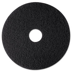"High Productivity Floor Pad 7300, 12"" Diameter, Black,"