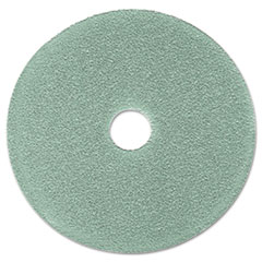 "Burnish Floor Pad 3100, 19"" Diameter, Aqua, 5/carton"