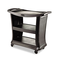 Executive Service Cart, Three-Shelf, 20-1/3w X