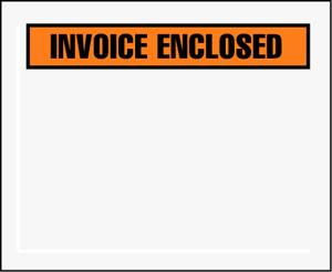 INVOICE ENCLOSED ENVELOPE