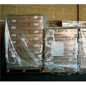 "51 x 49 x 73"" 3 Mil Clear Pallet Covers/Bin Liners"