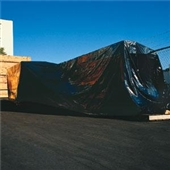 HEAVY DUTY BLACK POLY SHEETING