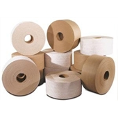 "70mm (2.75"") x 375` Kraft LEGEND Reinforced Tape"