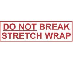 "2"" x 1000 yds. 2.0 Mil Do Not Break Stretch Wrap"