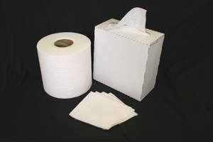 12' X 950', DRC BONDED CELLULOSE 40# WIPER, ROLL